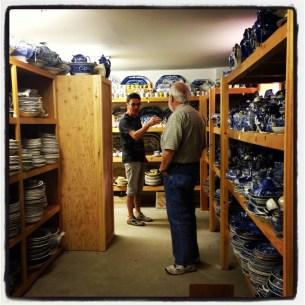 Paul Scott - Western Massachusetts - at Dennis & Dad's transferware collection
