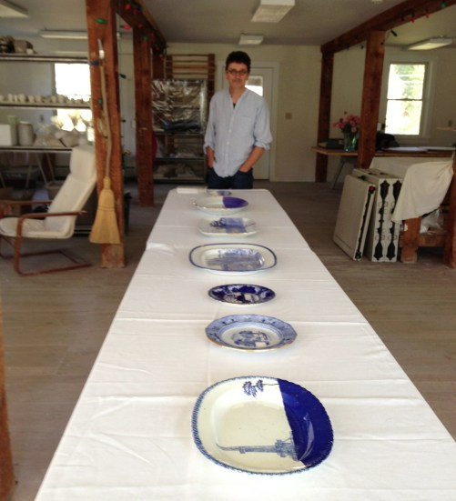 Paul Scott's USA Tour- dual residencies at Project Art and the Clay Studio - Open House in Cummington