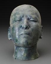 "Takahiro Kondo, ""Untitled"" 2010, porcelain, 9.5 x 5.5 x 8."""