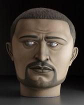 "Sergei Isupov, ""Ray"" 2009, stoneware, 29"" x 20"" x 17""."