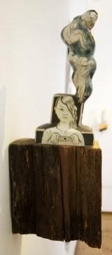 "Sergei Isupov, ""Duck Dance"" 2013, 5 x 3 x 4""."