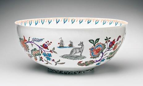 "Robin Best, ""Arcana Bowl"" porcelain, 23.5""."
