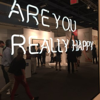 "ART BASEL MIAMI BEACH | Scene + Seen | Johann Konig | Jeppe Hein ""Are You Really Happy"""