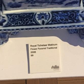 DESIGN MIAMI  Priveekollektie   Royal Tichelaar Makkum New Edition of the Traditional Pyrmaids of Makkum, 2008