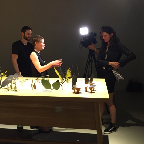 DESIGN MIAMI | Scene + Seen | Epehmera | Perrier Jouet | Katharina Mischer and Thomas Traxler | Small Discoveries