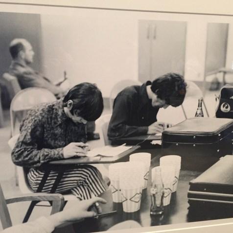 MIAMI 2014   History Miami  Beatles   Ringo Starr and George Harrison   Texting 1966