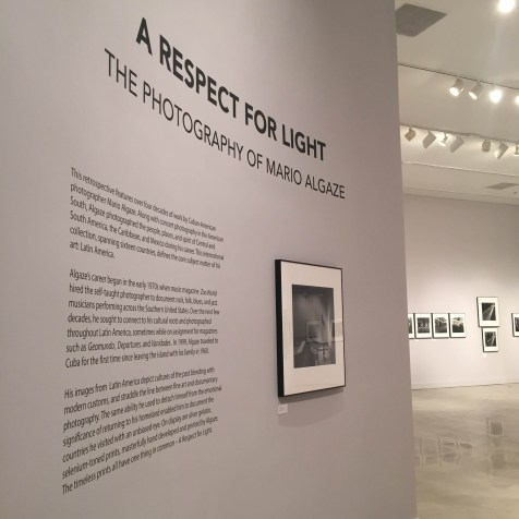 MIAMI 2014   History Miami   A Respect for Light - Mario Algaze