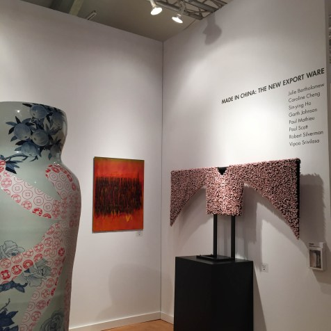 MIAMI PROJECT | Ferrin Contemporary | MADE IN CHINA: New Export Ware | Sin-ying Ho, Robert Silverman, Caroline Cheng
