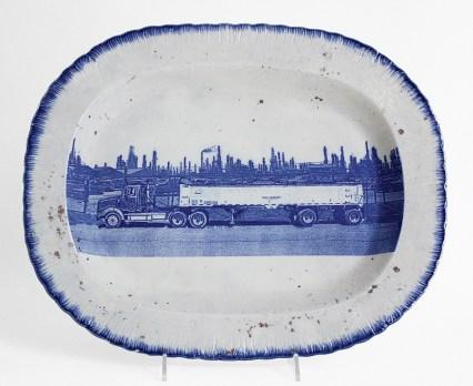 "Paul Scott, ""Scott's Cumbrian Blue(s), American Scenery, Residual Waste No: 3."""