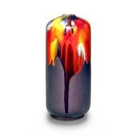 """Robert Silverman, """"Vase (6)"""", 2021, glazed porcelain, 13.5 x 6 x 6"""""""