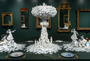"Bouke de Vries, ""War and Pieces"" 2018, Wadsworth Antheneum"