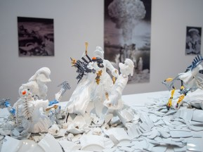 """War and Pieces"", Bouke de Vries, 2019, Montgomery Museum of Art"