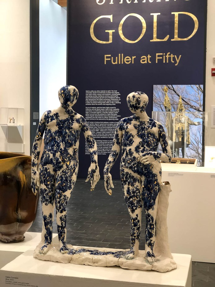 Claire Curneen Striking Gold: Fuller at Fifty September 7, 2019- April 5, 2020 Fuller Craft Museum, Brockton MA