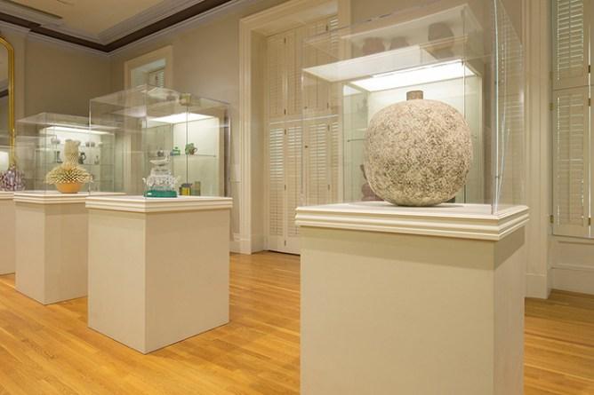 """Cool Clay: Recent Acquisitions of Contemporary Ceramics"", Crocker Art Museum, Sacramento, CA, July 21, 2019 - July 19, 2020. Image courtesy of the Crocker Art Museum."