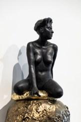 "Cristina Córdova, 'Isla IV' 2019, ceramic, 32 x 27 x 7""."