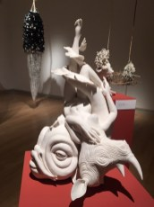 76th Scripps College Ceramic Annual: Sentiment and Skepticism, Our Culture of Contradictions, Installation view.