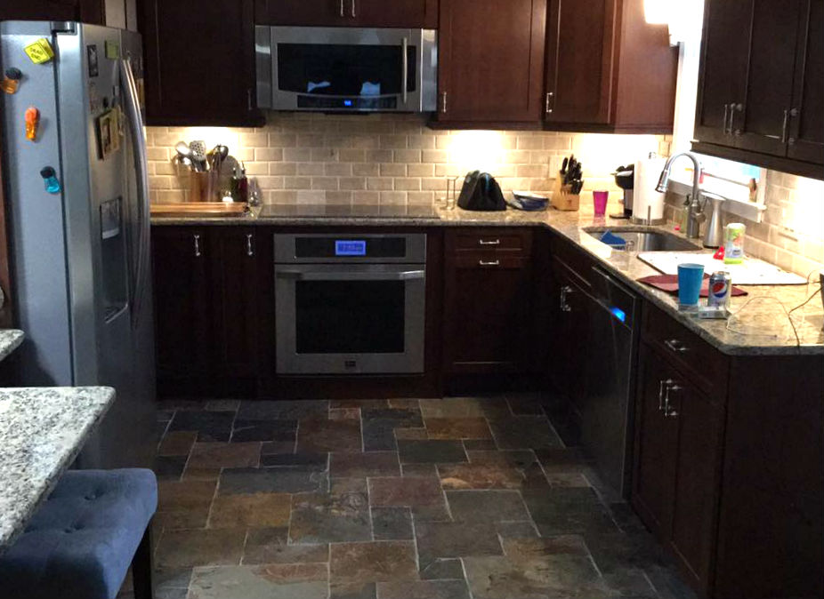 Kitchen renovation done by Ferris Home Improvements