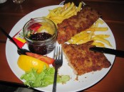 Viennese Schnitzel, Photo by Dan Ruland, used with permission by the Honors Program at Ferris State