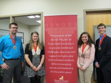 Group - Seniors Fall 2014 (Photos courtesy of The Honors Program at Ferris State University)