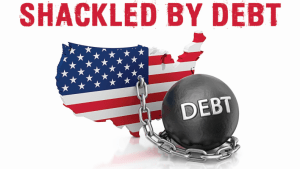 """Provided courtesy of Jon Chulski and Americans for Prosperity Foundation via Erin Moore """"Shackled by Debt"""" poster Link: https://mail.google.com/mail/u/0/?ui=2&ik=59657edef5&view=att&th=14cb418db4334c3a&attid=0.1&disp=inline&safe=1&zw"""