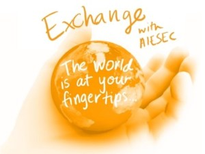 AIESEC Exchange, courtesy of AIESEC at Ferris State University. Used with permission from Stephanie Mellinger