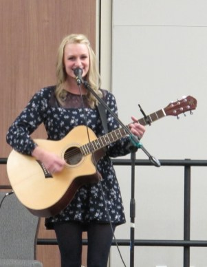 """Megan McCormick performs """"Singing a Roar/Brave"""" Medley by Katy Perry and Sara Bereilles. Courtesy of Ferris Honors"""