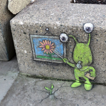 David Zinn's Street Art. Courtesy of Ferris State University's Fine Art Gallery. http://www.ferris.edu/htmls/othersrv/art_gallery/upcoming.htm