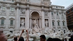 Trevi Fountain. Courtesy of Ferris State University Honors student, Noah Blower.