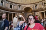 Vanessa in Italy. Courtesy of Ferris State University Honors Student, Vanessa Mathes.
