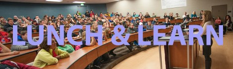 Lunch and Learn Banner. Courtesy of the Honors Program at Ferris State University