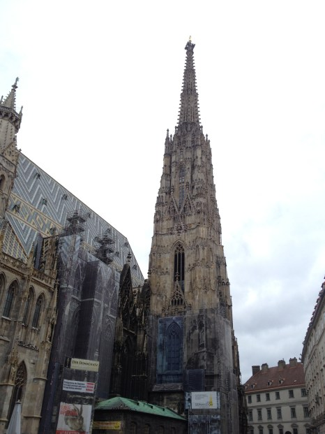 St. Stephen's Cathedral, photo by Dan Ruland, used with permission by the Honors Program at Ferris State