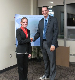Alexandra Myaard and Dr. Peter Bradley. Courtesy of the photographer.