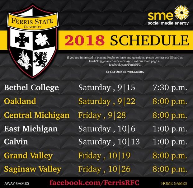 Ferris-Schedule-update