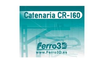 Catenaria Renfe CR-160 Ferro3D