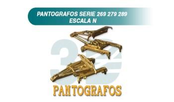 Pantografos Renfe serie 269 279 289