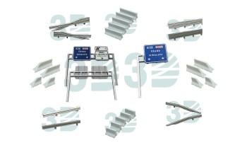 Porticos y Medianas Escala Ferro3D