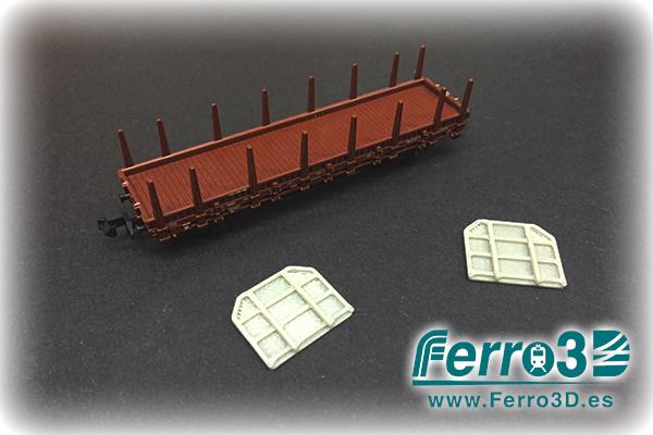 telero transfesa escala N ferro3d