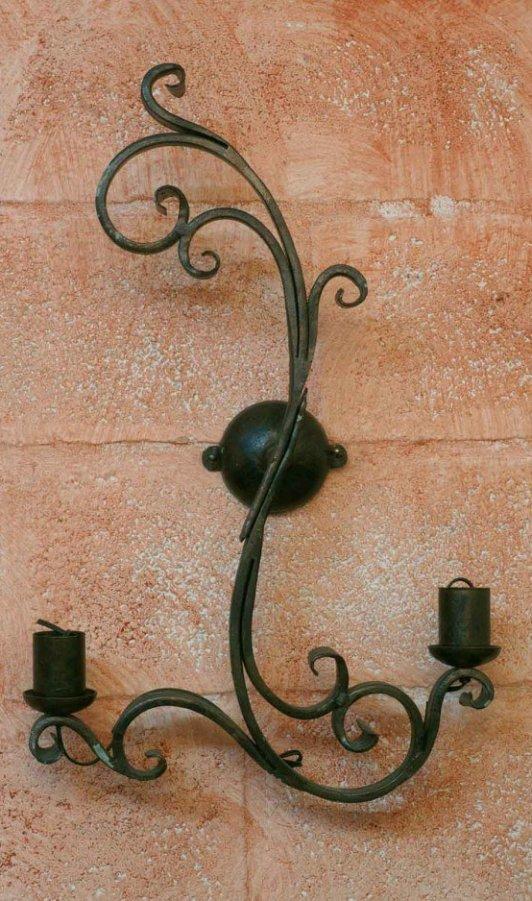 Applique in ferro battuto