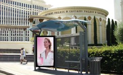 "84"" Digital 6 Sheet Outdoor Display"