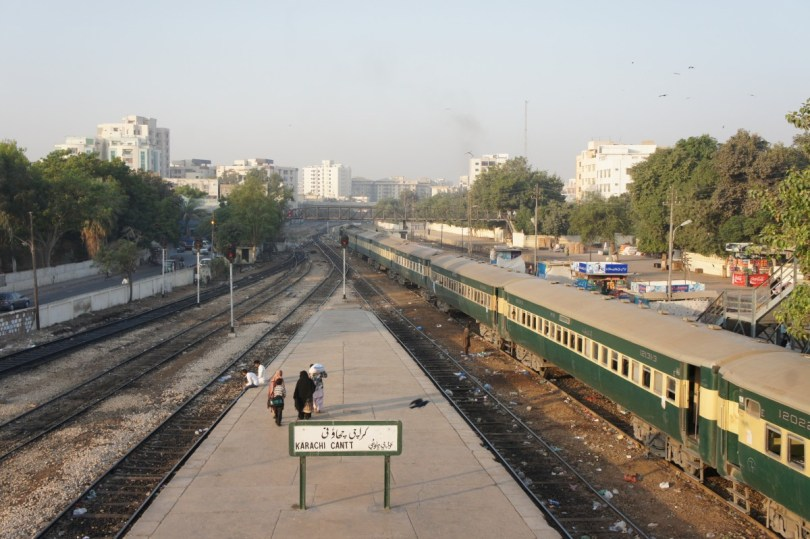 Karachi: Ankunft am frühen Morgen