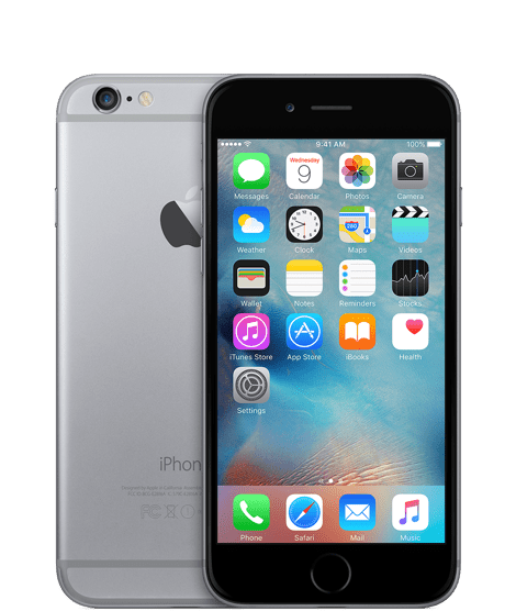 iPhone 6 128GB Apple desbloqueado cor Space Gray(cinza) USADO