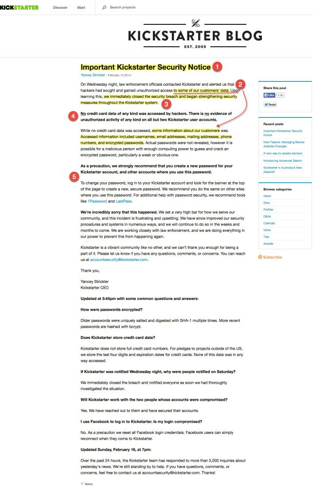 """Rhetorical & #TechComm Analysis of Kickstarter """"hacking"""" response"""