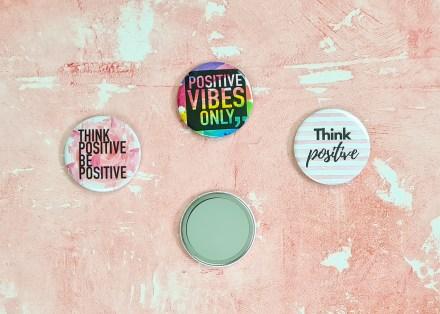 Positivity pocket mirrors - 58mm