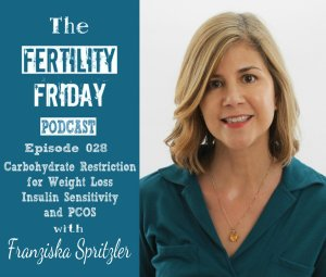 FFP 028 | Carbohydrate Restriction for Weight Loss | Insulin Sensitivity and PCOS | Franziska Spritzler