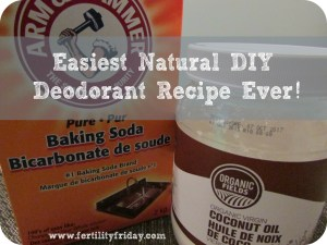 Easiest Natural DIY Deodorant Recipe Ever – How to make Natural Deodorant that Actually Works in 30 seconds or less!!