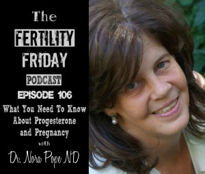 FFP 106 | What You Need To Know About Progesterone and Pregnancy | Using Your Cycle To Time Hormone Testing | Fertility Awareness Method | Dr. Nora Pope
