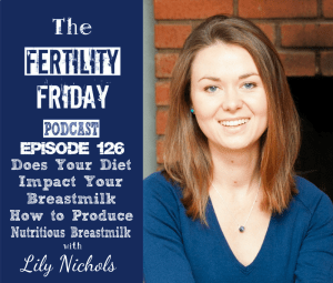 FFP 126 | Does Your Diet Impact Your Breastmilk? | Eating for Two: How to Produce the Most Nutritious Breastmilk | Managing the Postpartum Period | What Breastfeeding is Really Like | Lily Nichols