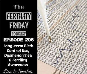 [On-Air Client Session] FFP 206 | Long-term Birth Control Use, Dysmenorrhea & Fertility Awareness | Lisa & Heather