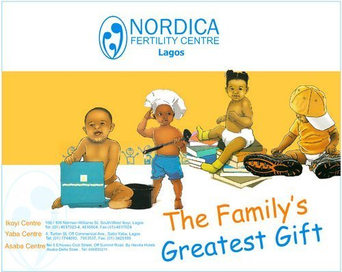 Nordica Lagos Is One Of Nigeria's Leading Centres For World Class Assisted Reproductive Services