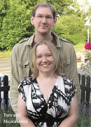 Tom and Nicola Webb